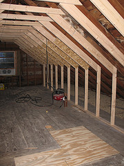 Attic Works Before Amp After