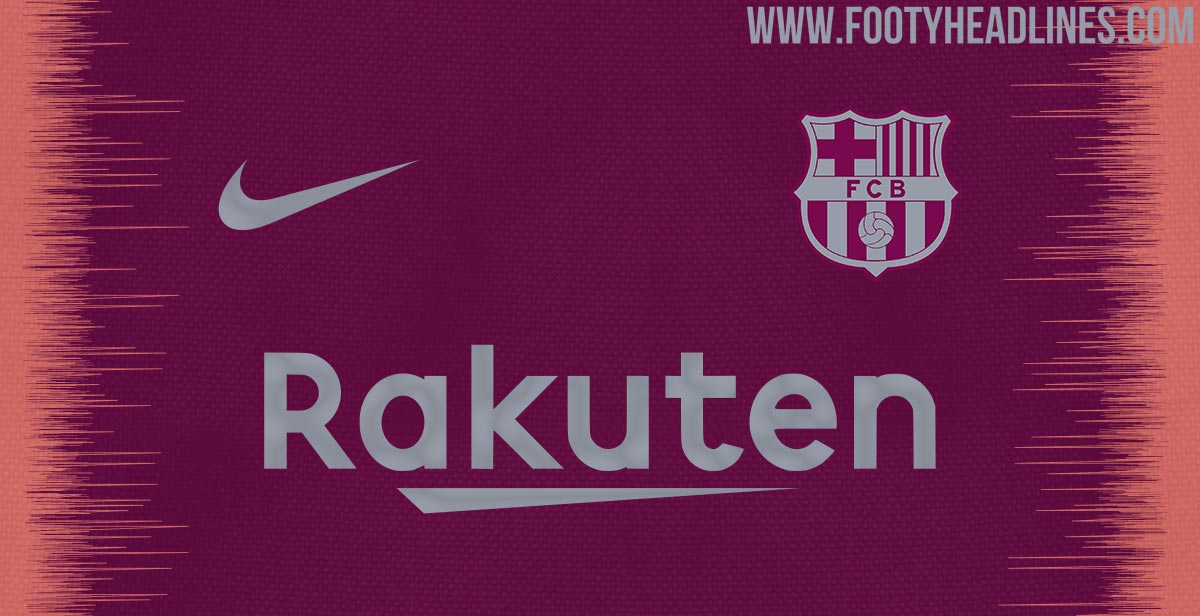 new arrival 1a201 1b5d6 Nike FC Barcelona 18-19 Third Kit Colors and Info Leaked ...