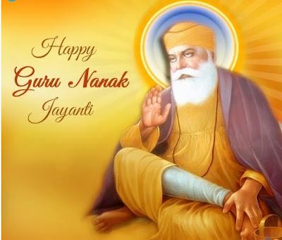 happy guru nanak dev jayanti