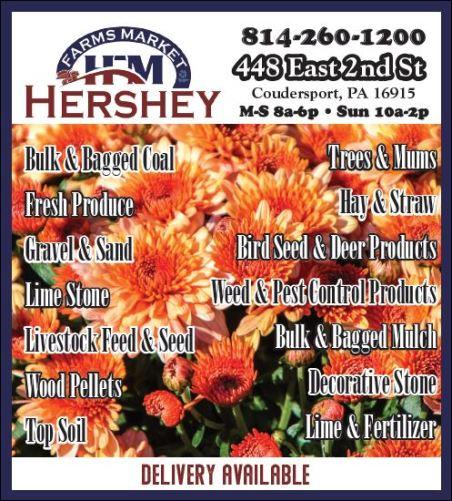 Hershey Farms Market, Coudersport, PA