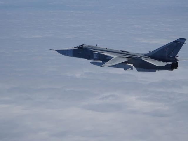 F-18 españoles desplegados en Estonia interceptan un avión militar ruso