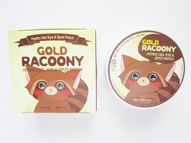 Secret Key Gold Racoony Hydro Gel Eye + Spot Patch Review