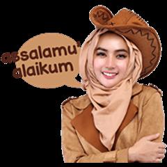 Cithatha: Cowgirl Hijab Vol. 1 (Sachet)