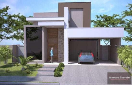 rumah minimalis dengan atap datar
