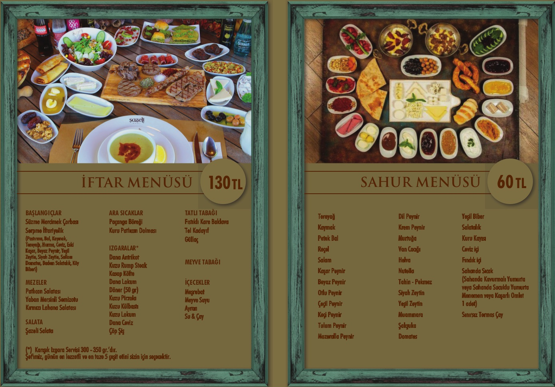 sazeli Cafe Restoran istanbul iftar sahur