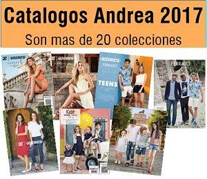 Catalogos Andrea 2017 en linea