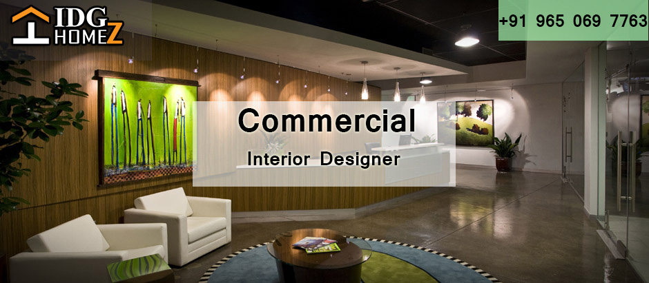 Get Your Workplace Transformed By Commercial Interior Designer