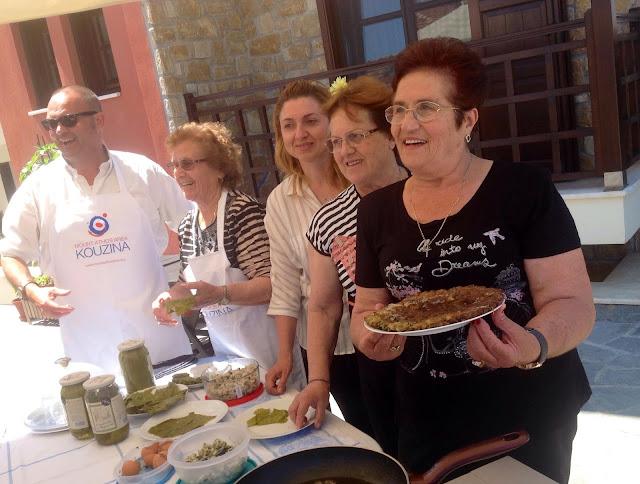 Γεύσεις Πόντου και της Μικράς Ασίας στο Mount Athos Area Kouzina