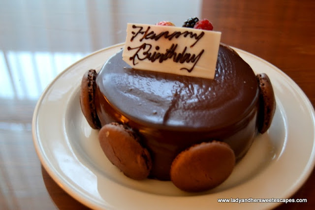 Birthday Cake from Yas Island Rotana