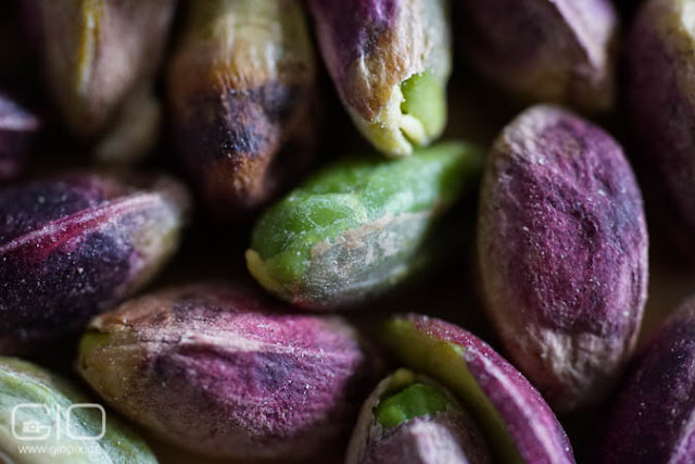 Shelled pistachios from Sicily