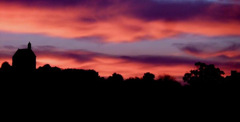 Wyjątkowy wschód słońca / Un lever de soleil exceptionnel