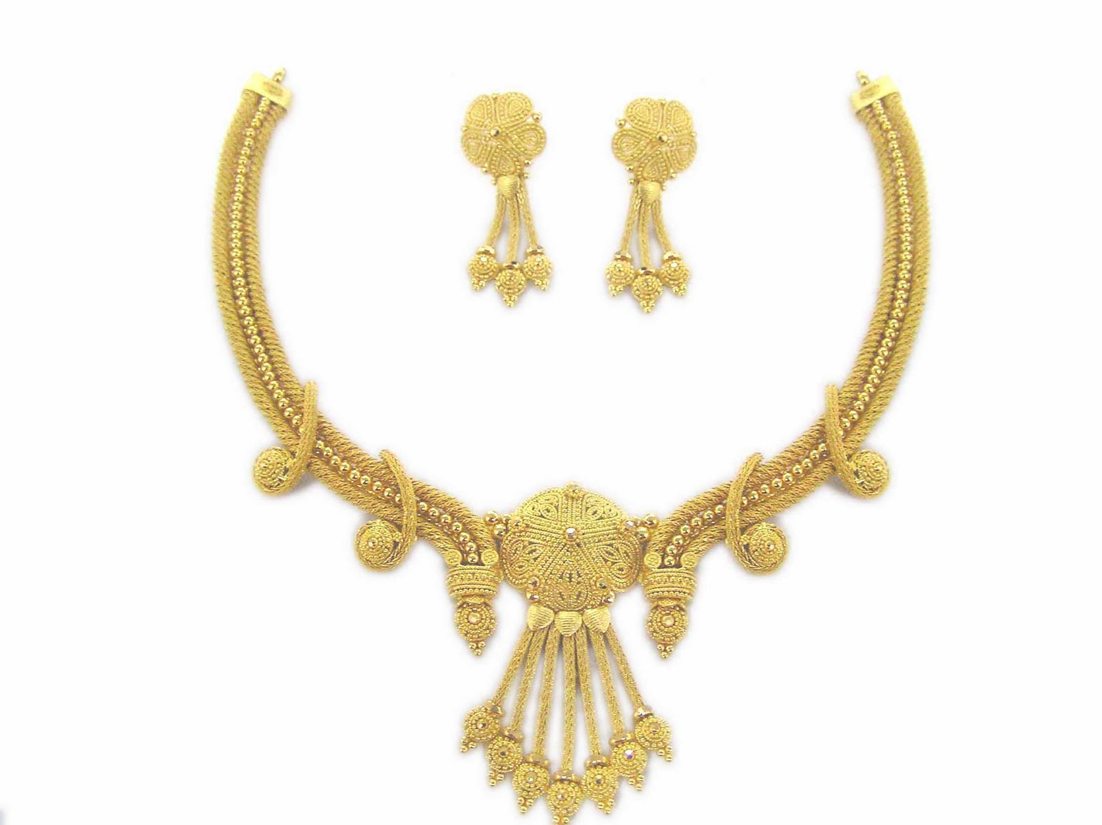 gold necklace designs |Jewellery in Blog