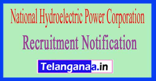 National Hydroelectric Power Corporation NHPC Recruitment Notification 2017