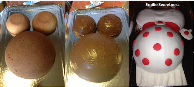 Gâteau femme enceinte - Baby Shower