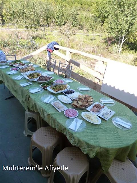 köyde sabah kahvaltısı