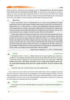 9. Sınıf Din Kültürü Ders Kitabı Cevapları Nev Yayınları Sayfa 24
