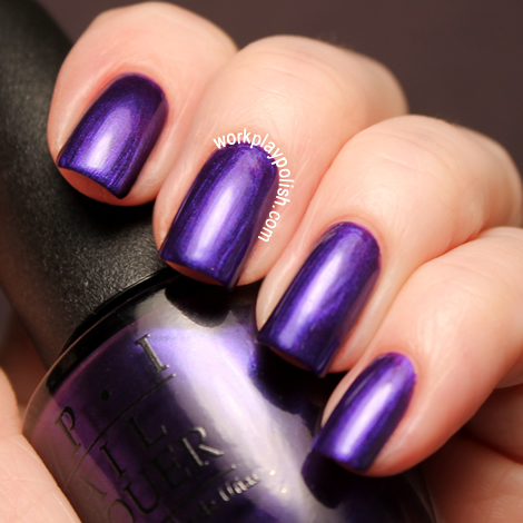 OPI Skyfall Collection: Tomorrow Never Dies (work / play / polish)