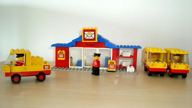 LEGOLAND 6651 & 6362 LE CAMION DE POSTE + LE BUREAU DE POSTE Lego-bureau-poste-postier-camion029