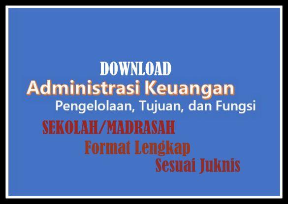 Download Administrasi Keuangan Sekolah Format Lengkap