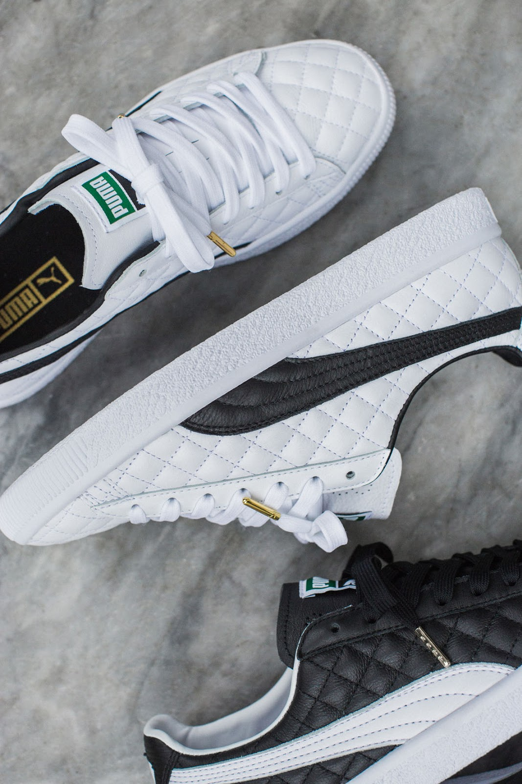 Logro Umeki Janice  Swag Craze: First Look: The New Clyde 'Dressed' Pack by PUMA