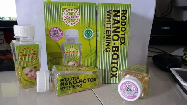 Rodotex Nano Botox Whitening Softgels