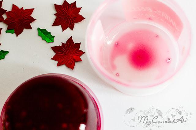 Santa's Belly, gelatina de ducha de Navidad de Lush.