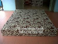 Kasur inoac motif gotik cokelat inoactasik