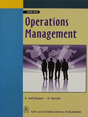OPERATION MANAGEMENT BY S ANILKUMAR & N SURESH