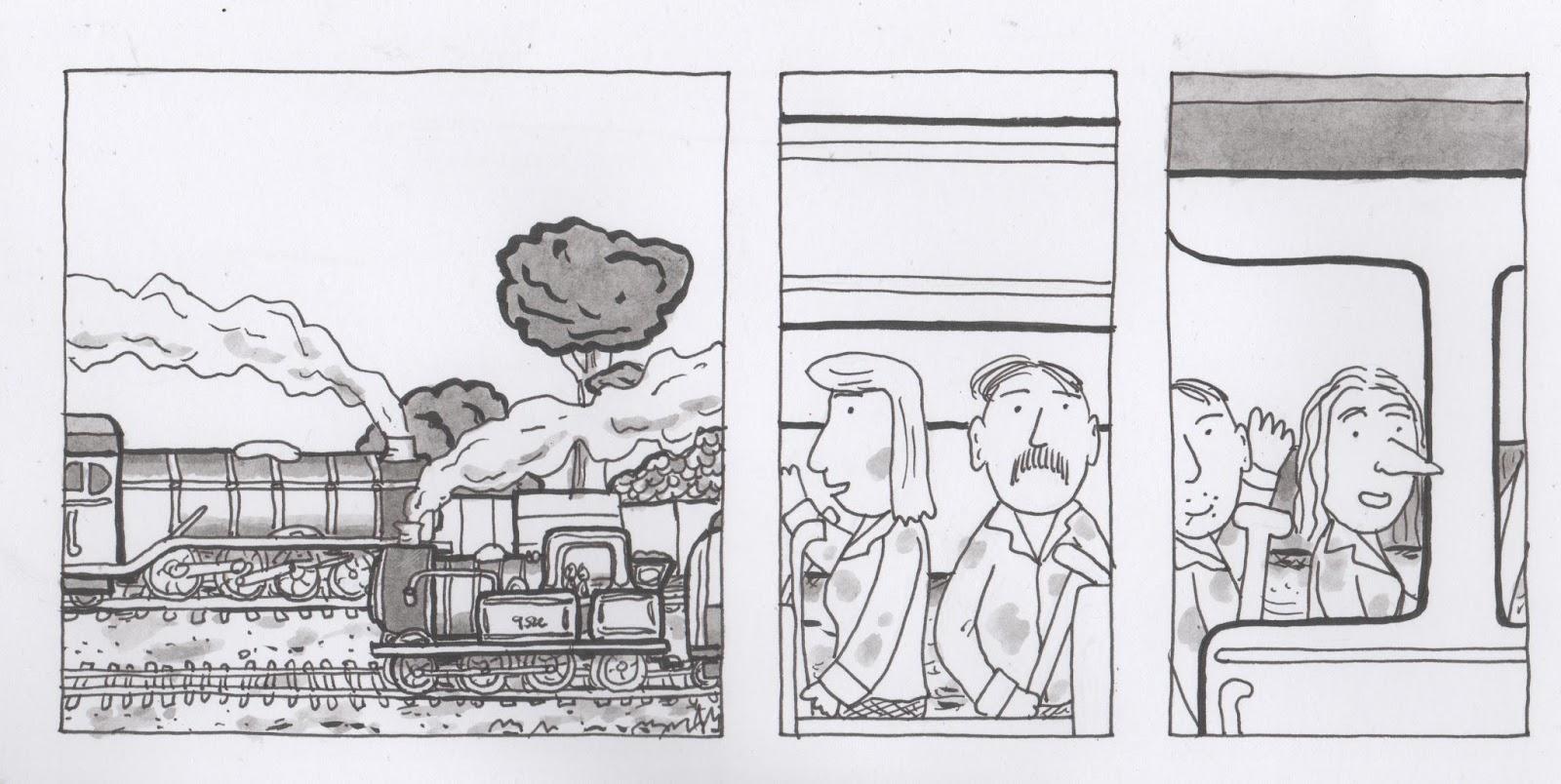 Rob Jackson S Comics Blog Passing Trains