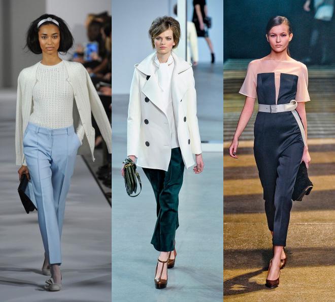 Что будет модно носить осенью 2012
