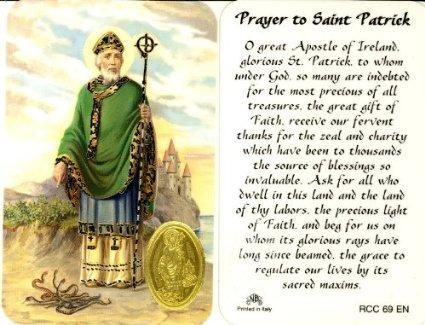 St Patrick 2017 Prayer