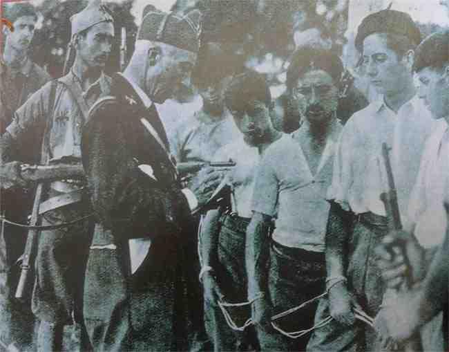 Ejecuciones en España 1936