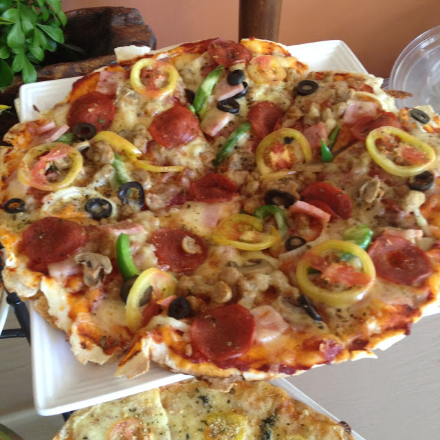 Special pizza at Handuraw Pizza