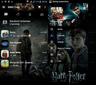 BBM Mod Harry Potter