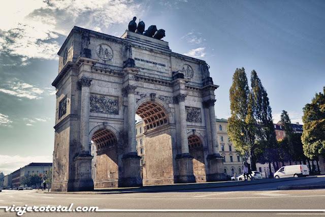 Siegestor, Múnich