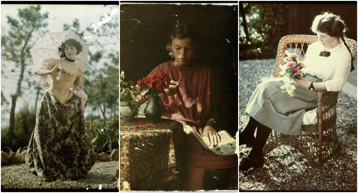 Color Photography Was Attempted Beginning In The 1840s But Widely Known With Autochrome Lumiere An Early Process That Patented