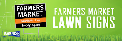 Farmers Market Lawn Signs | Lawnsigns.com