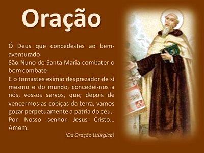 Resultado de imagem para SÃO NUNO DE PORTUGAL