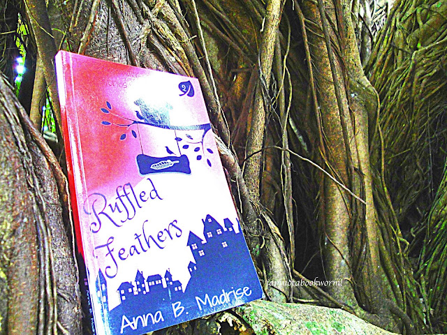 Ruffled Feathers (The Shearwater Mysteries #2) by Anna B. Madrise | A Book Review by iamnotabookworm!