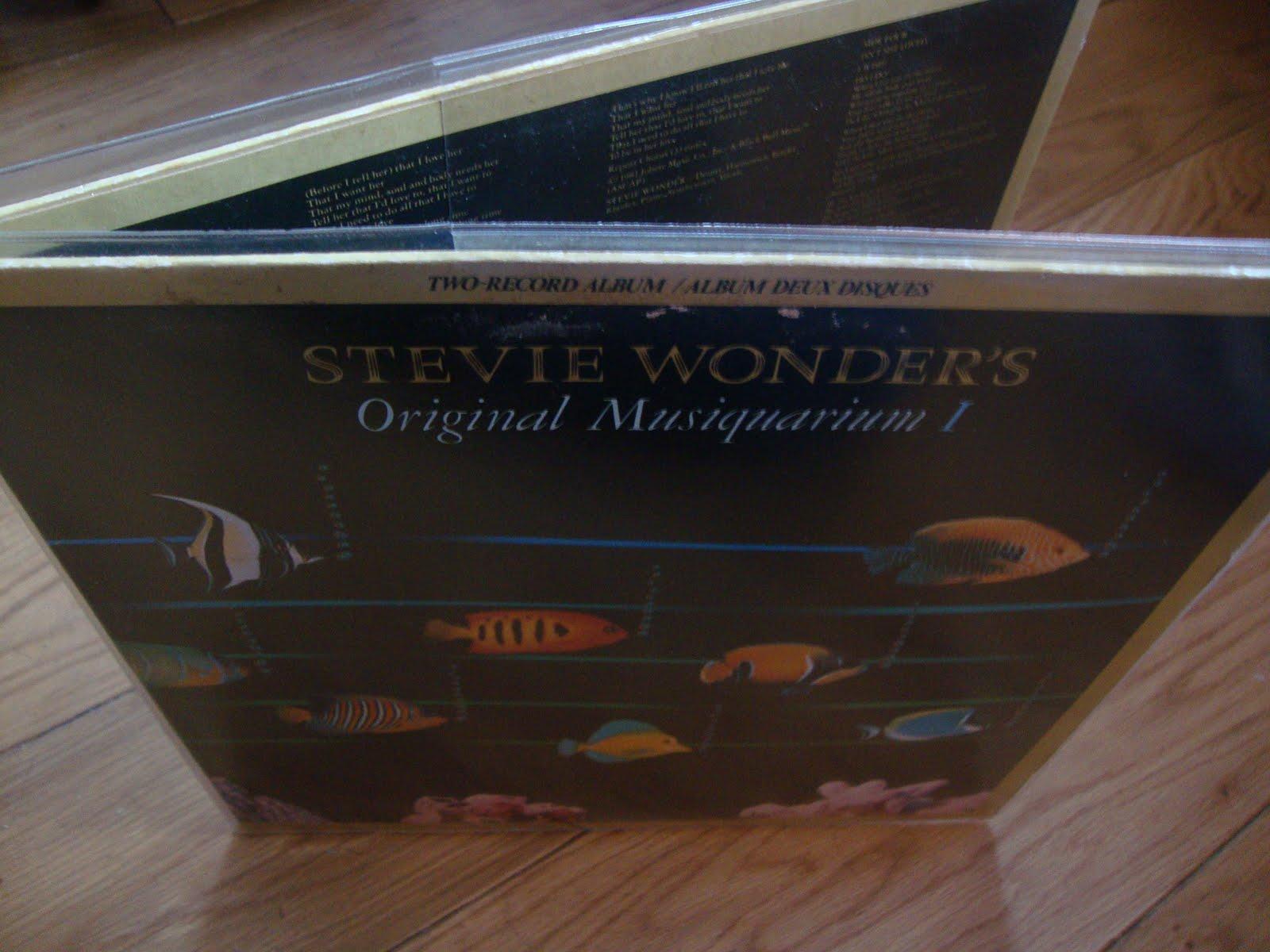 Back To Vinyl Stevie Wonder Original Musiquarium I