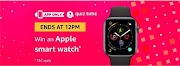 Amazon Quiz Answers, answer and get a chance to win apple watch 11th December, 2018.