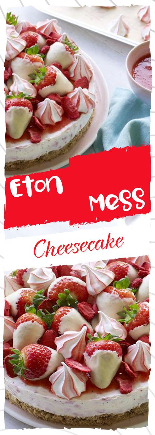 Eton Mess Cheesecake Recipe