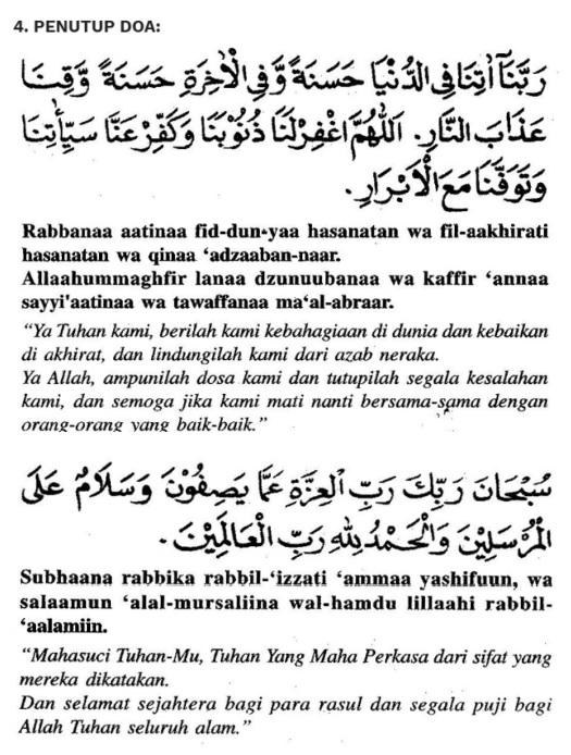 penutup doa