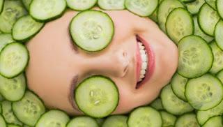 Masque au concombre