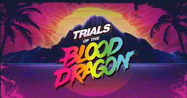 Trials of the Blood Dragon logo Ubisoft E3