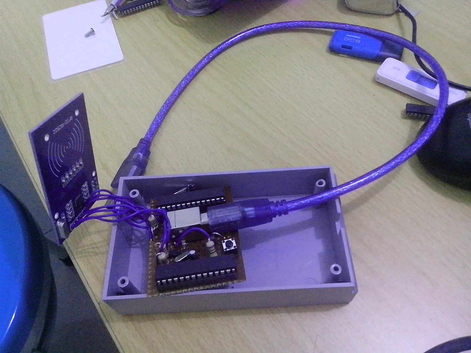 World of Bauds: Arduino RFID, RC522, VUSB HID as Keyboard