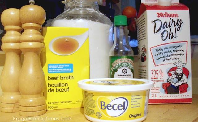 IKEA gravy ingredients