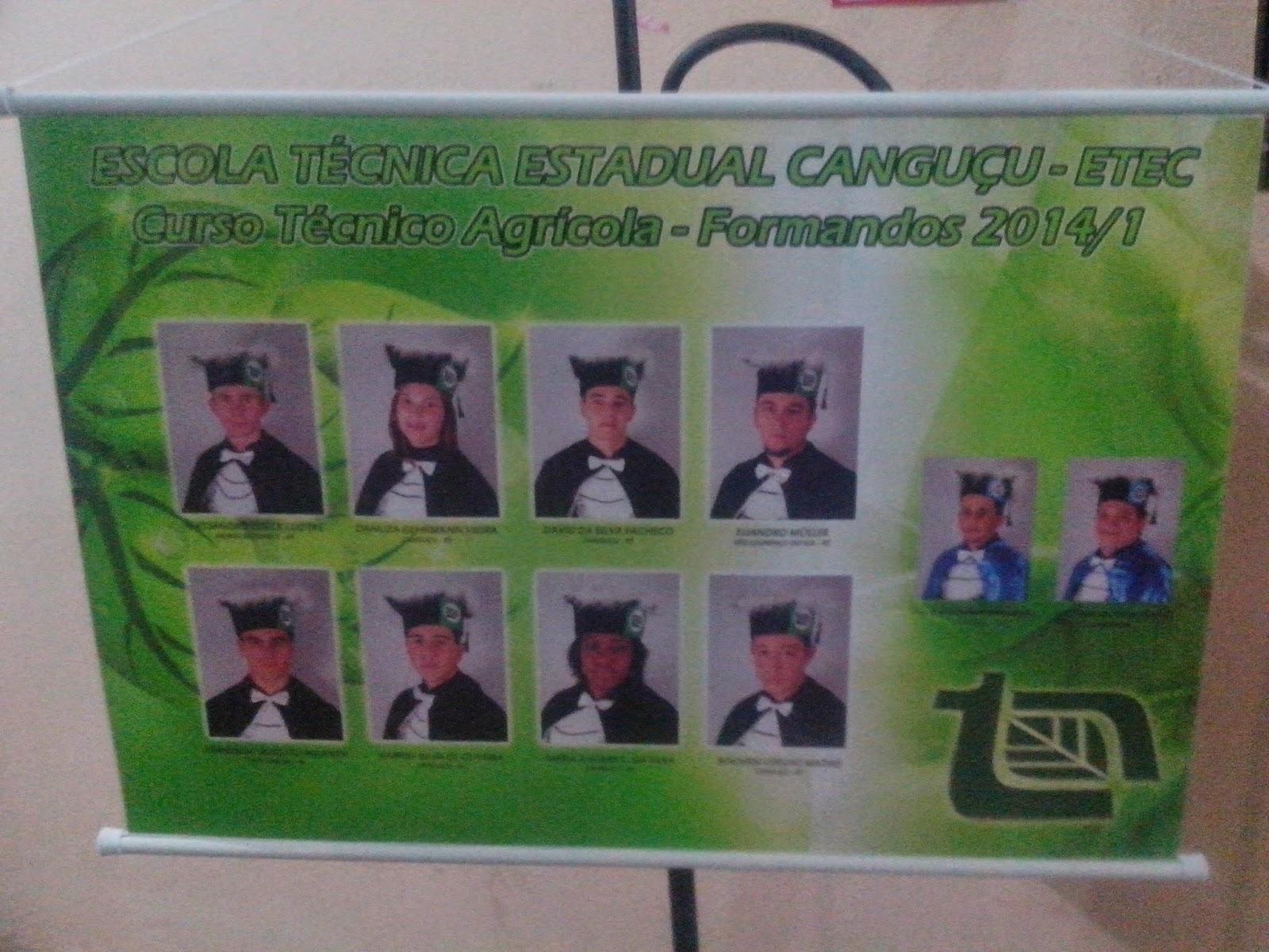 Formatura do curso Técnico em Agricultura (ETEC)   Canguçu