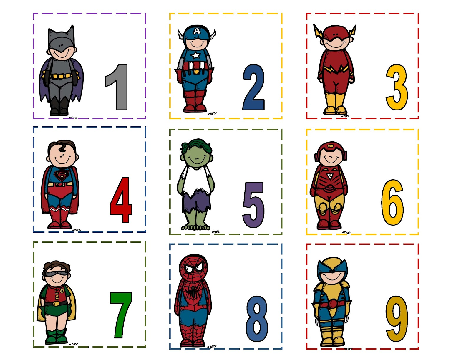 July Preschool Printables