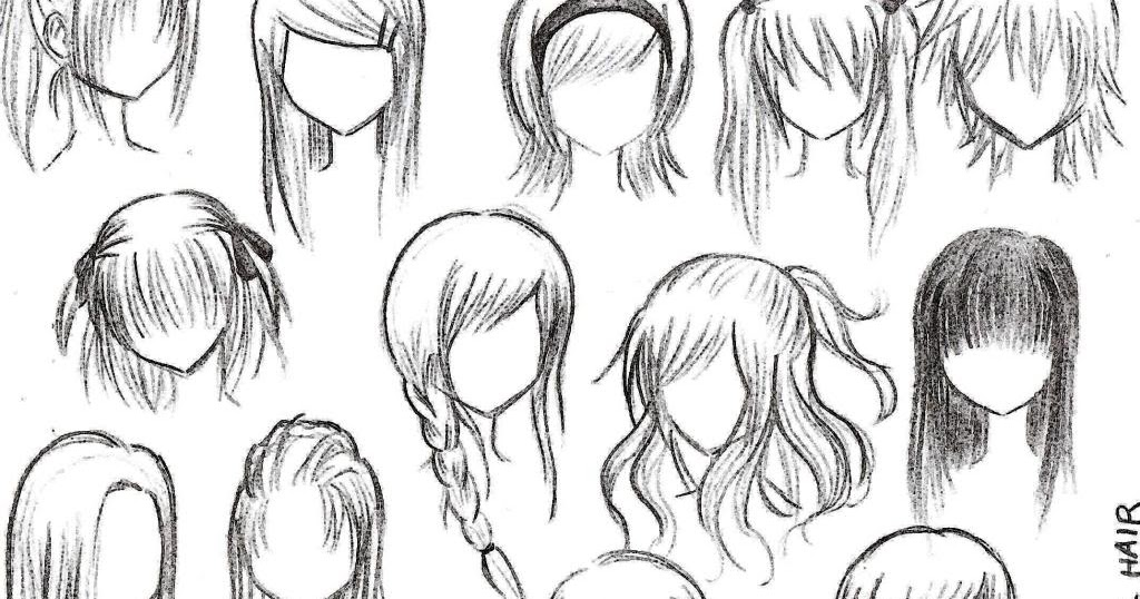 anime girl hair style easiest hairstyle anime hairstyles 3128 | animegirlhairstyles02